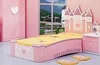 Giường ngủ hình lâu đài công chúa cho...