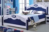 Giường ngủ cho bé trai màu Xanh đại d...