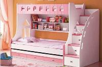 Giường 2 tầng cho bé gái BABY T859 (H...