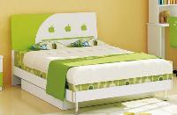 Giường ngủ 1m2 màu xanh cốm tươi sáng...