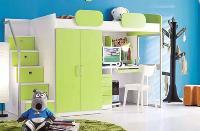 Giường tần trẻ em kết hợp tủ đựng BAB...