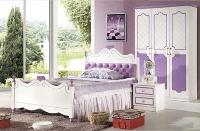 Giường ngủ công chúa sắc tím ngọt ngào
