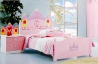 Giường lâu đài cổ tích cho công chúa ...